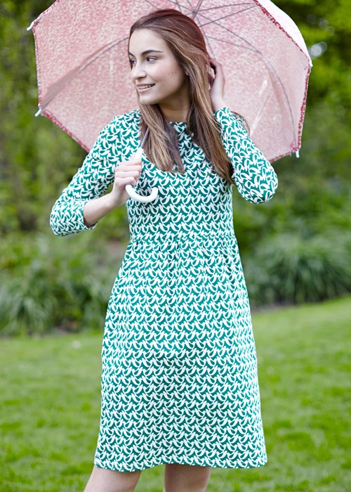 orla-kiely-birdwatch-gathered-dress-in-green-9f2537379a31